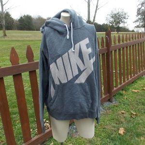 Nike Oversized Hoodie Hoody Sweatshirt Size XL